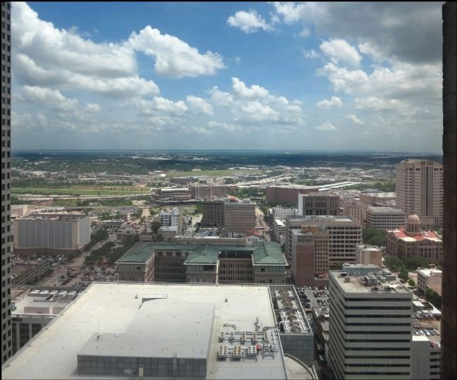 View of Houston from the 34th Floor of the Gulf Building image. Click for full size.