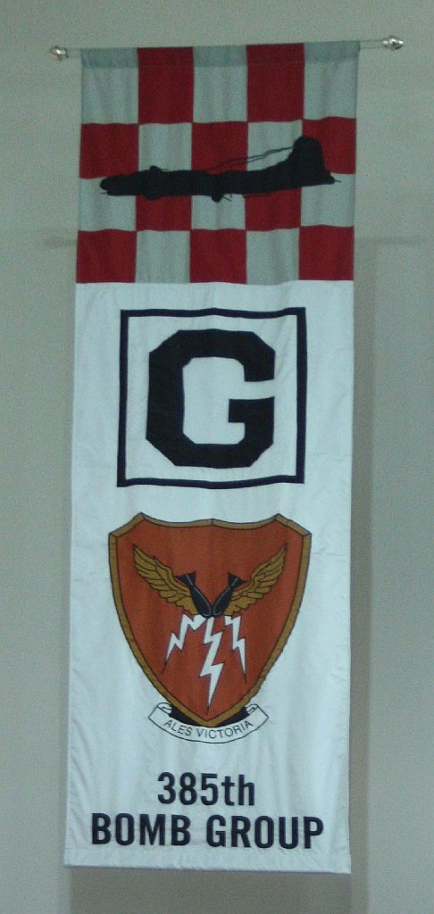 385th Bomb Group Banner