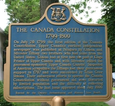 The Canada Constellation Marker image. Click for full size.