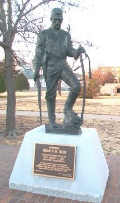 Corporal Noah V. B. Ness Monument image. Click for full size.