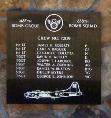487th Bomb Group 838 Bomb Squad image. Click for more information.