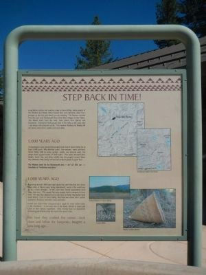 Step Back In Time Marker image. Click for full size.