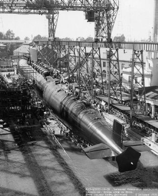USS Theodore Roosevelt (SSBN-600), image. Click for more information.
