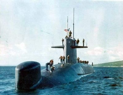 USS Thomas A. Edison (SSBN-610), image. Click for more information.