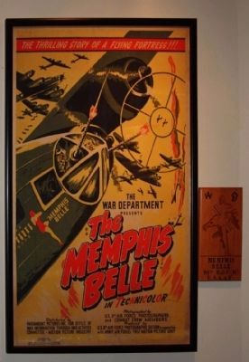 The War Department Presents <i>The Memphis Belle</i> movie poster image. Click for full size.