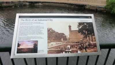 The Birth of an Industrial City Marker image. Click for full size.