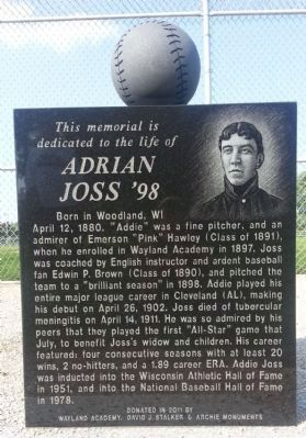 Adrian Joss '98 Marker image. Click for full size.