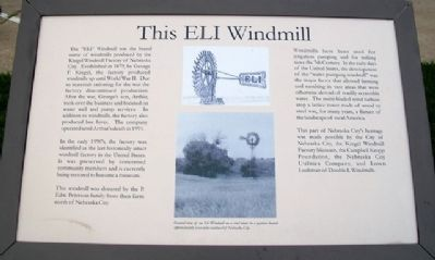 This ELI Windmill Marker image. Click for full size.