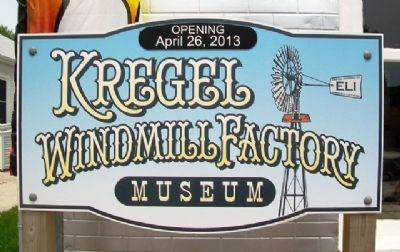 Kregel Windmill Factory Museum image. Click for full size.
