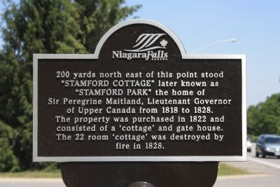 Stamford Cottage Marker image. Click for full size.