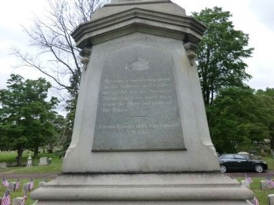 Boston Civil War Memorial Marker image. Click for full size.