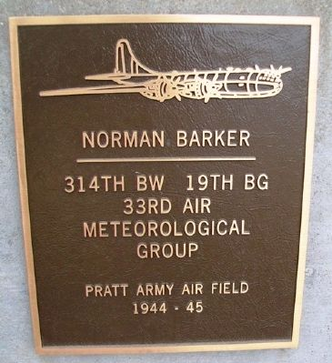 Norman Barker Marker image. Click for full size.