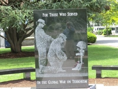 Memorial for Soldiers against Terrorism Marker image. Click for full size.