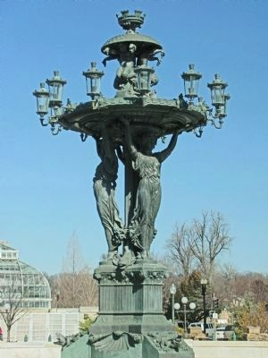 Bartholdi Fountain image. Click for full size.