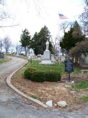 Mount Mora Cemetery and Marker image. Click for full size.