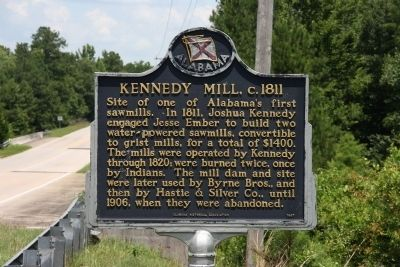 Kennedy Mill, c.1811 Marker image. Click for full size.