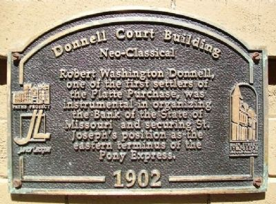Donnell Court Building Marker image. Click for full size.