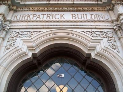 Kirkpatrick Building Entrance image. Click for full size.