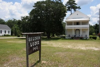 Baldwin Lodge #142, Oldest In Baldwin County. Charted August 12, 1850. image. Click for full size.