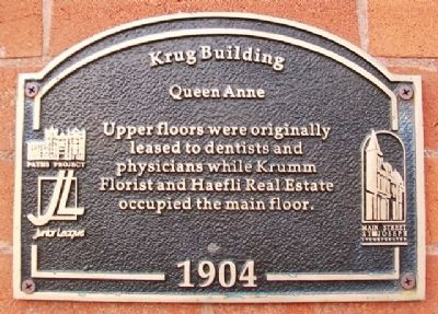Krug Building Marker image. Click for full size.