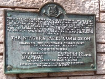 Niagara Park Greenhouses Marker image. Click for full size.