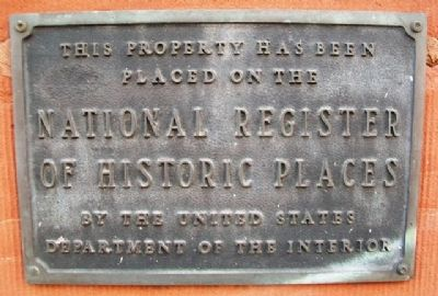 German-American Bank NRHP Marker image. Click for full size.