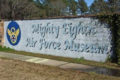 """Nye's Annihilators"" Marker located at the Mighty Eighth Air Force Museum image. Click for full size."