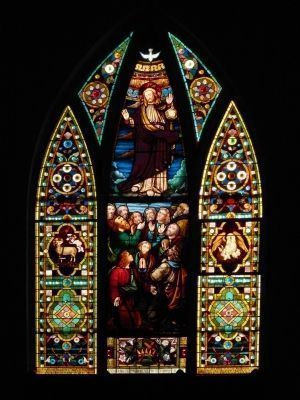 Stained Glass Window<br>Christ Episcopal Church image. Click for full size.
