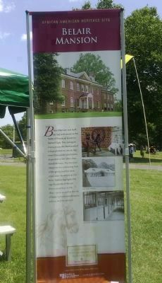 Belair Mansion: a Prince George's County African American Heritage Site image. Click for full size.