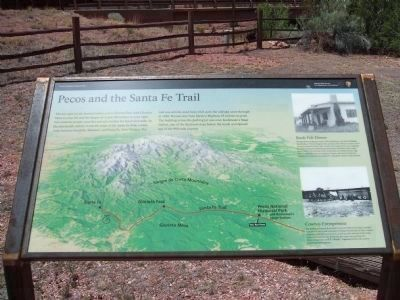 Kosloski's Historic Trading Post and Santa Fe Trail Interpretive Material image. Click for full size.