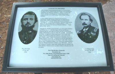 A Tale of Two Brothers Marker image. Click for full size.