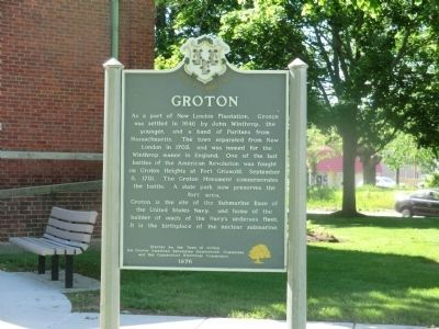 Groton Marker image. Click for full size.