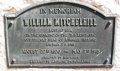 William Mitchelhill Marker image. Click for full size.