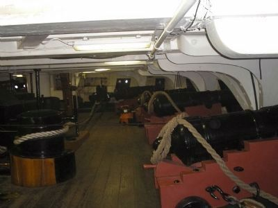 Below Deck on the USS Constitution image. Click for full size.