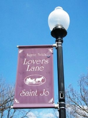 Eugene Field's Lovers Lane Neighborhood Banner image. Click for full size.