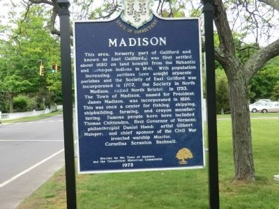 Madison Marker image. Click for full size.