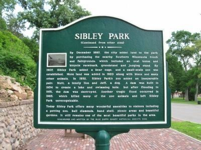 Sibley Park Marker image. Click for full size.