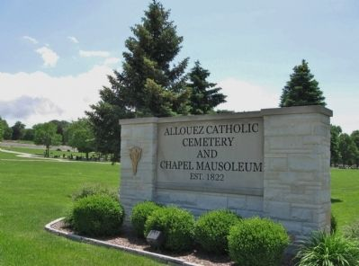 Allouez Catholic Cemetery and Chapel Mausoleum image. Click for full size.