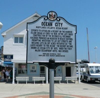 Ocean City Marker image. Click for full size.
