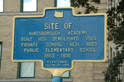 Kingsborough Academy Marker image. Click for full size.