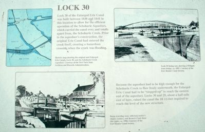 Lock 30 Marker image. Click for full size.