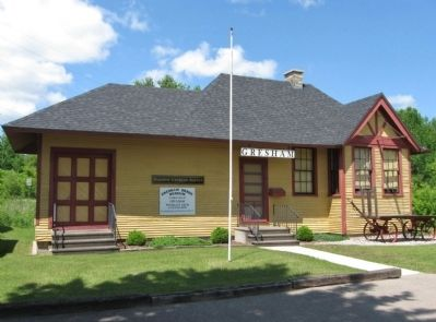 The Gresham Depot Museum image. Click for full size.