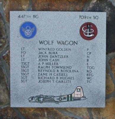 447th Bomb Group 709th Sq image. Click for full size.
