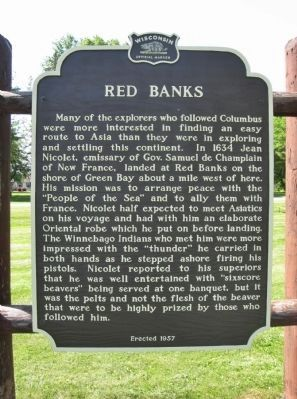 Red Banks Marker image. Click for full size.