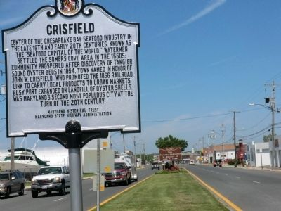 Crisfield Marker image. Click for full size.