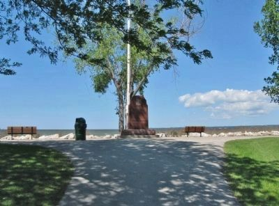 Naval Veterans Monument image. Click for full size.
