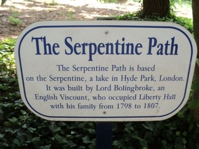 The Serpentine Path Marker image. Click for full size.