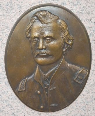 Bronze Bas Relief of Lieutenant William E. Culp image. Click for full size.