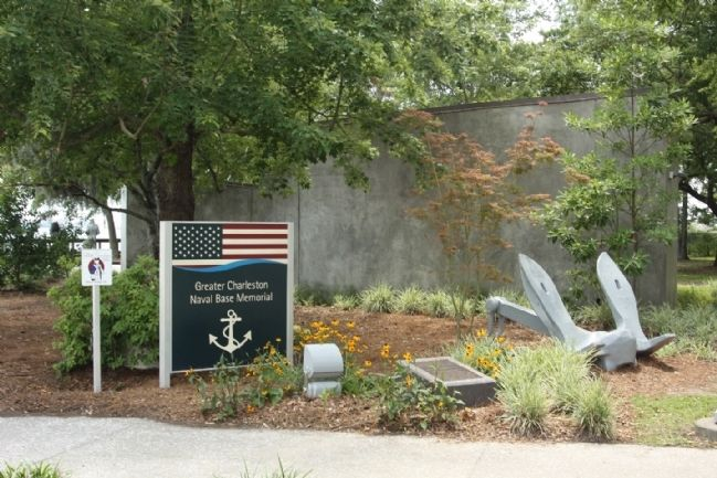 Greyhounds Of The Fleet Marker located at the Greater Charleston Naval Base Memorial image. Click for full size.