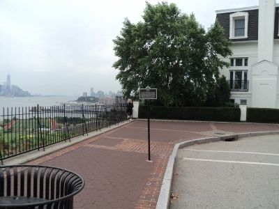 Marker in Weehawken image. Click for full size.